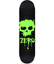 "Zero Blood Skull 8.0""  Skateboard Deck"