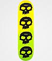 """Zero Multi-Skull Pricepoint 8.25"""" Skateboard Deck"""