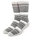 Zine 10 Feet Tall Black, Grey & White Crew Socks