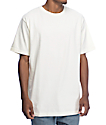 Zine Boxed Off-White Boxy Fit T-Shirt