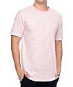 Zine Hart Light Pink & White Stripe T-Shirt