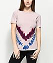 Zine Hayzel Mauve & Placed Tie Dye T-Shirt
