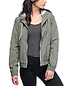 Zine Laya Olive Fleece Lined Jacket