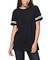 Zine Sherman Black & White Stripe T-Shirt