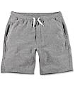 Zine Silas Heather Grey Sweat Shorts