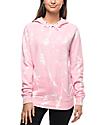 Zine Tera Bleach Splatter Pink Hoodie