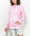 Zine Tera Light Pink Tie Dye Hoodie