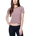 Zine Yohan Crop Ringer T-Shirt