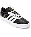 adidas AdiEase Universal Black & White Leather Shoes