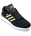 adidas Busenitz Boost 10 Year Anniversary Black & Gold Shoes