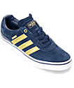 adidas Busenitz Vulc ADV 10 Year Anniversary Navy & Gold Shoes
