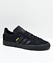 adidas Campus Vulc II All Black Shoes