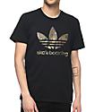 adidas Clima 3.0 Camo & Black T-Shirt
