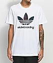 adidas Clima 3.0 Palm White T-Shirt