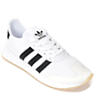 adidas Flashback White & Black Shoes