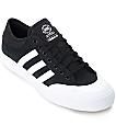 adidas Matchcourt ADV Black & White Suede Shoes