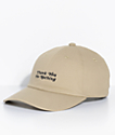 adidas Men's Thanks Khaki Strapback Hat