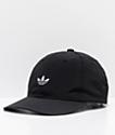 adidas Relaxed Modern II Black Strapback Hat