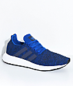 adidas Swift Run Royal Blue & White Shoes