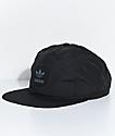 adidas Trefoil Unstructured Black Snapback Hat