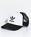adidas Women's White & Black Trucker Hat