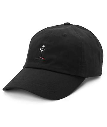 #EVERYBODYSKATES Smith Grind Black Baseball Hat