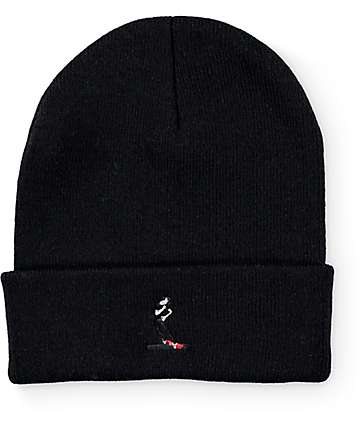 #EVERYBODYSKATES Smith Grind Black Beanie