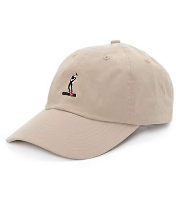 #EVERYBODYSKATES Smith Grind Khaki Baseball Hat