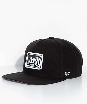 '47 Nitro Circus Patch Black Snapback Hat