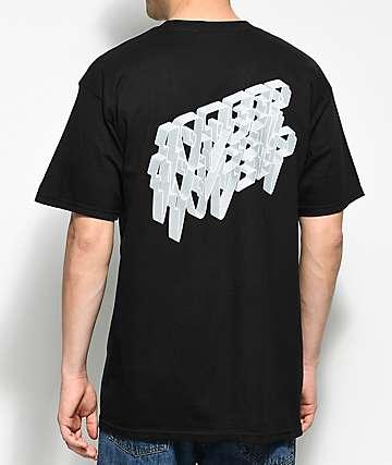 10 Deep 3D Black T-Shirt