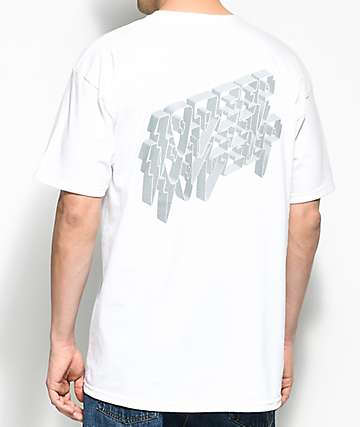 10 Deep 3D camiseta blanca