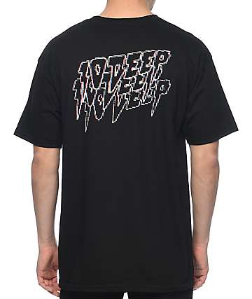 10 Deep Digital Fury Black T-Shirt