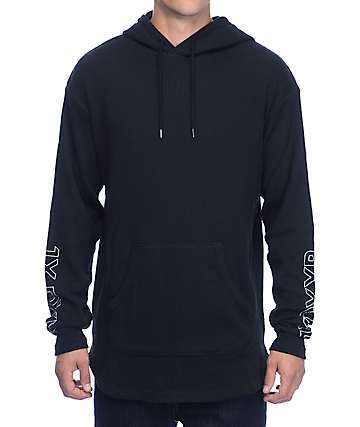 10 Deep Division Black Thermal Hoodie