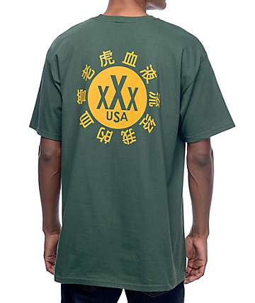 10 Deep Dojo Green T-Shirt