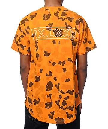 10 Deep Dotted Scoop Bottom Camo T-Shirt
