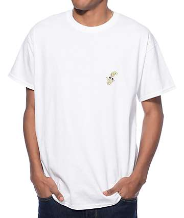 10 Deep Gestures White T-Shirt
