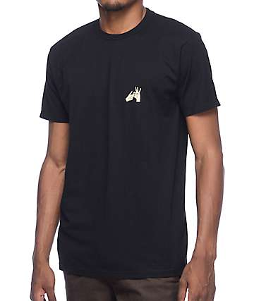 10 Deep In & Out Black T-Shirt