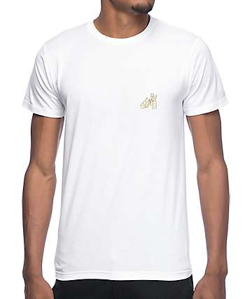 10 Deep In & Out White T-Shirt