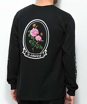 10 Deep In Loving Memory Black Long Sleeve T-Shirt