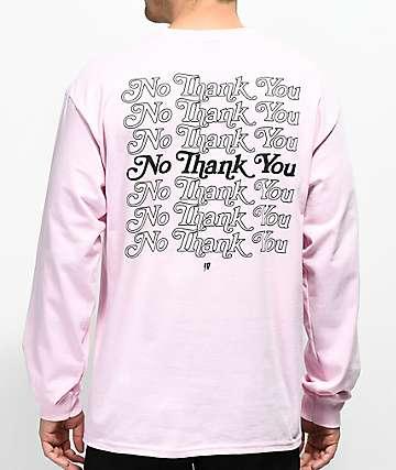 10 Deep Many Returns Pink Long Sleeve T-Shirt