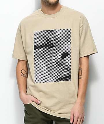 10 Deep Memento Mori Tan T-Shirt