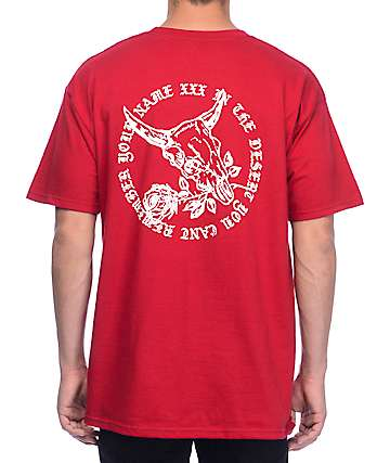 10 Deep Memory Loss Red T-Shirt