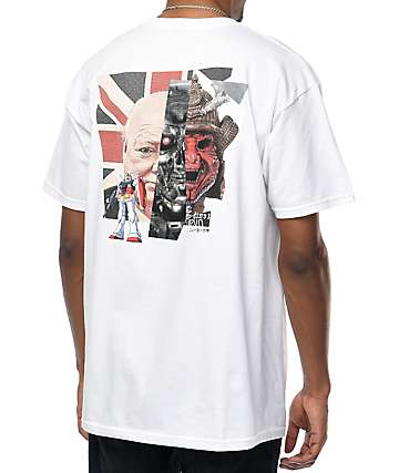 10 Deep New Forms White T-Shirt