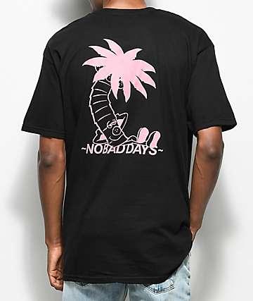 10 Deep No Bad Days Black T-Shirt