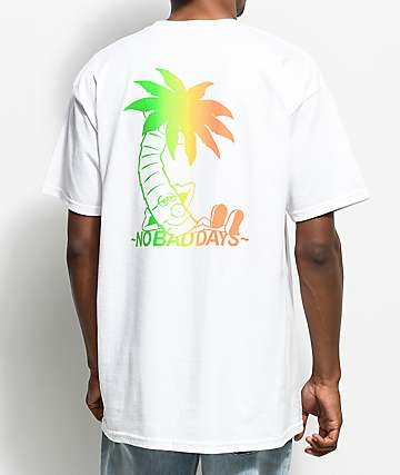 10 Deep No Bad Days White T-Shirt