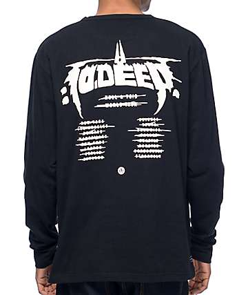 10 Deep Null & Void Black Long Sleeve T-Shirt
