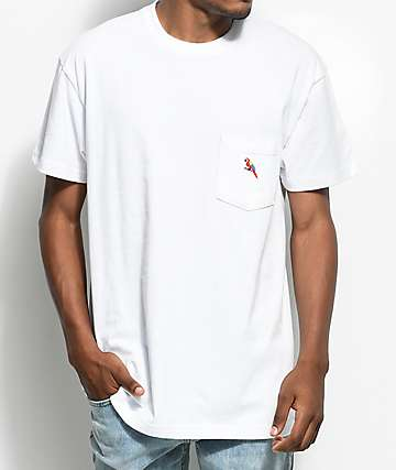 10 Deep Personal Paradise White Pocket T-Shirt
