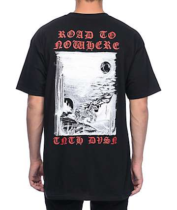 10 Deep Road To Nowhere Black T-Shirt