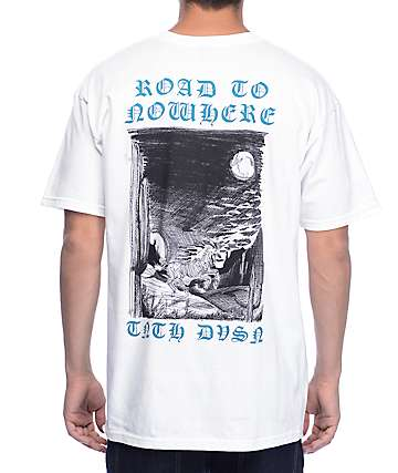 10 Deep Road To Nowhere White T-Shirt