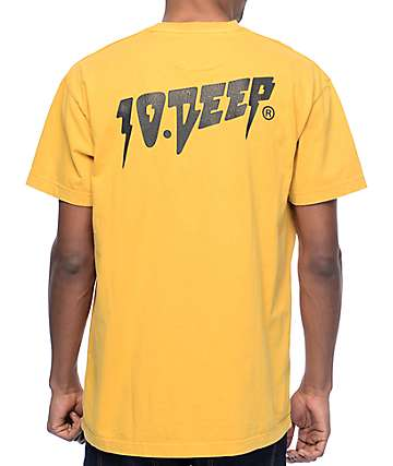 10 Deep Sound & Fury Vintage Gold T-Shirt